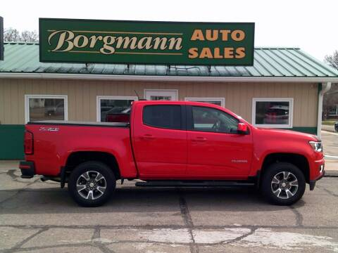 2016 Chevrolet Colorado for sale at Borgmann Auto Sales in Norfolk NE