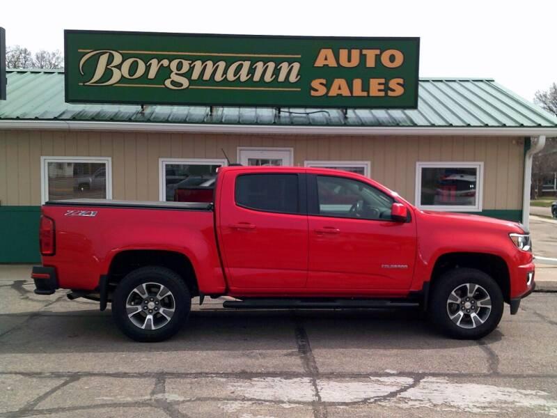 2016 Chevrolet Colorado for sale at Borgmann Auto Sales in Norfolk NE