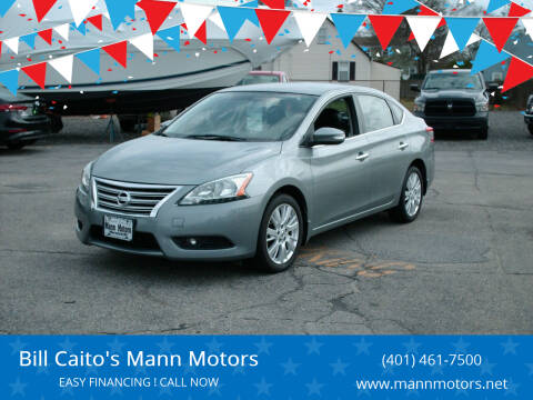 2013 Nissan Sentra for sale at Bill Caito's Mann Motors in Warwick RI