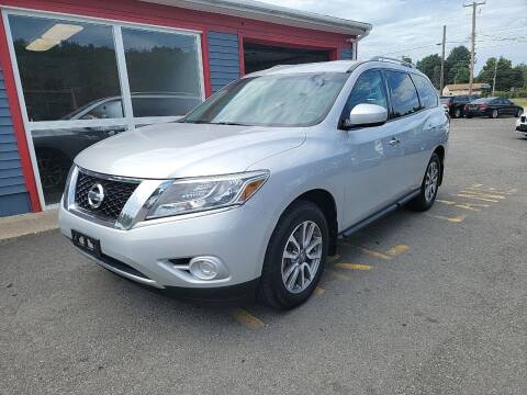 2013 Nissan Pathfinder for sale at Top Quality Auto Sales in Westport MA