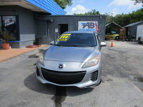 2012 Mazda MAZDA3 for sale at AUTO BROKERS OF ORLANDO in Orlando FL