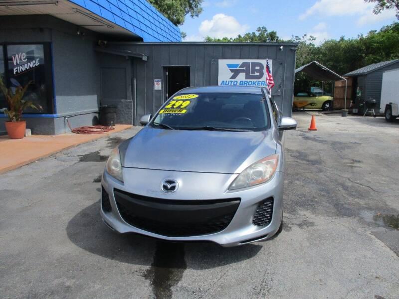 2012 Mazda MAZDA3 for sale at AUTO BROKERS OF ORLANDO in Orlando FL