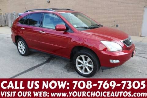 2009 Lexus RX 350 for sale at Your Choice Autos in Posen IL