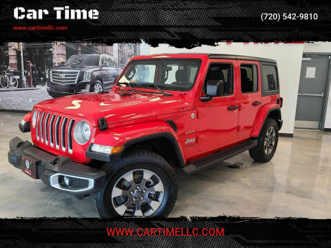 2018 Jeep Wrangler Unlimited for sale at Car Time in Denver CO