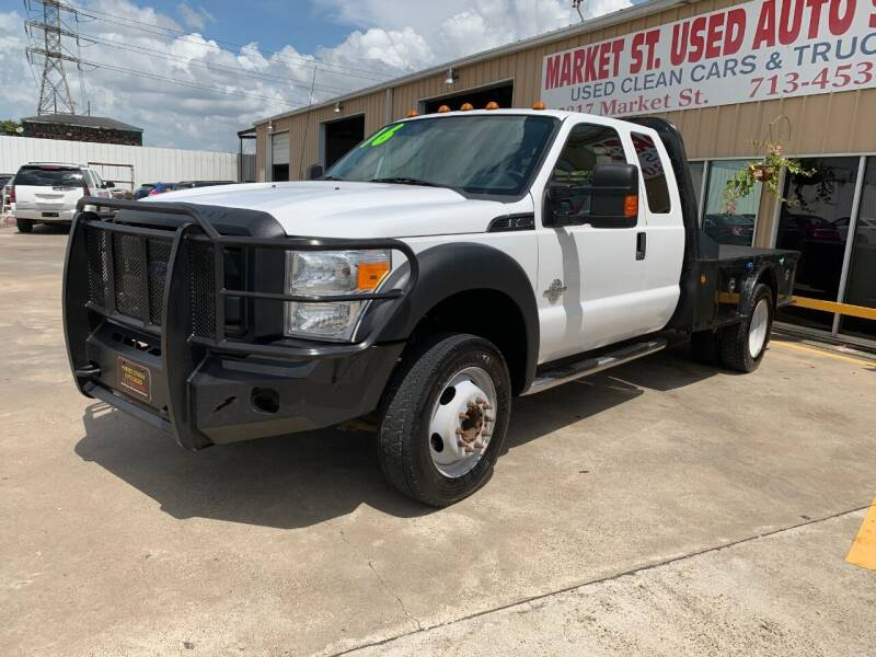 2016 Ford F-450 Super Duty for sale at Market Street Auto Sales INC in Houston TX