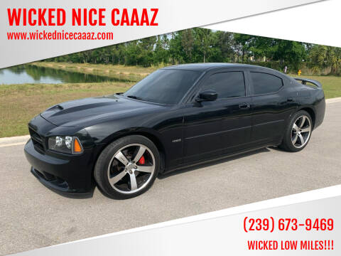 2007 Dodge Charger for sale at WICKED NICE CAAAZ in Cape Coral FL