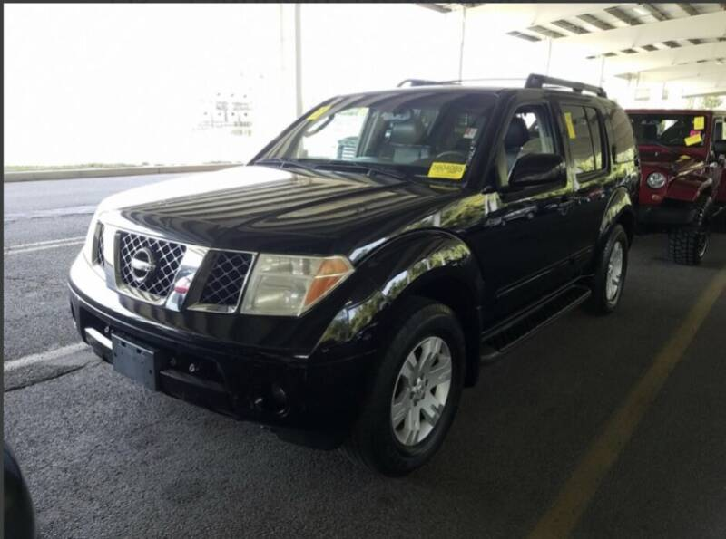 2005 Nissan Pathfinder for sale at All City Auto Group in Staten Island NY
