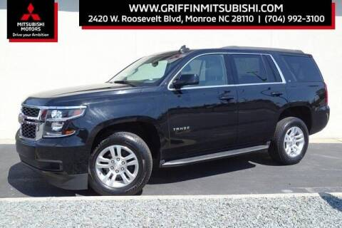 2019 Chevrolet Tahoe for sale at Griffin Mitsubishi in Monroe NC