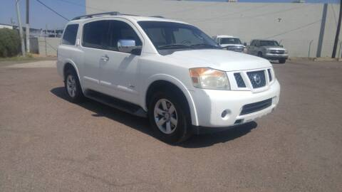 2008 Nissan Armada for sale at Advantage Auto Motorsports in Phoenix AZ