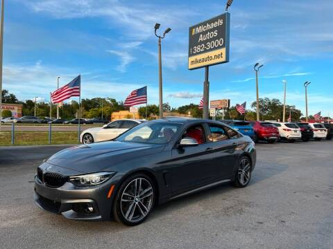 2019 BMW 4 Series for sale at Michaels Autos in Orlando FL