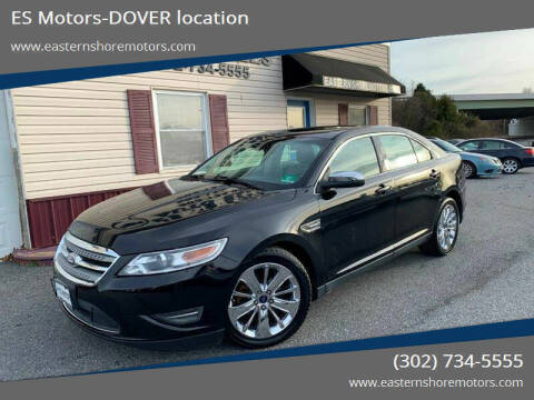 2011 Ford Taurus for sale at ES Motors-DAGSBORO location - Dover in Dover DE