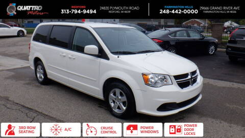 2013 Dodge Grand Caravan for sale at Quattro Motors 2 in Farmington Hills MI