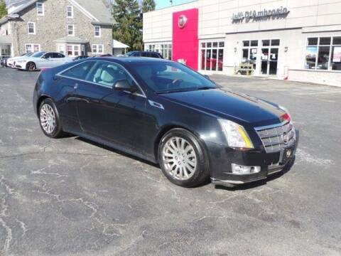 2011 Cadillac CTS for sale at Jeff D'Ambrosio Auto Group in Downingtown PA
