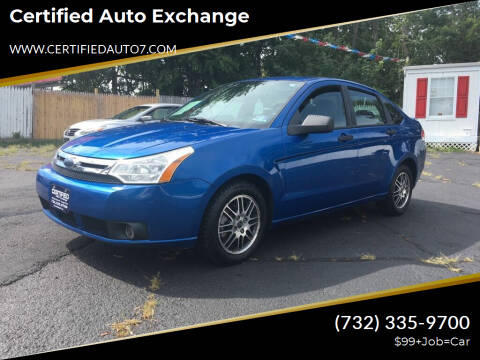 2010 Ford Focus for sale at Certified Auto Exchange in Keyport NJ