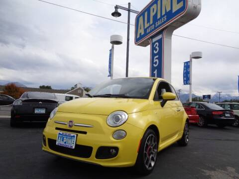 2013 FIAT 500 for sale at Alpine Auto Sales in Salt Lake City UT