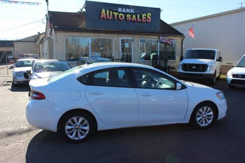 2014 Dodge Dart for sale at BANK AUTO SALES in Wayne MI