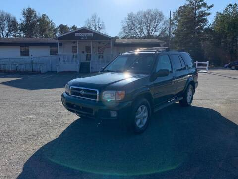 2001 Nissan Pathfinder for sale at CVC AUTO SALES in Durham NC