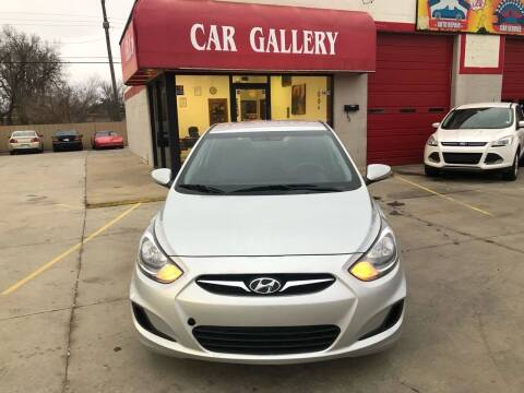2013 Hyundai Accent for sale at Car Gallery in Oklahoma City OK