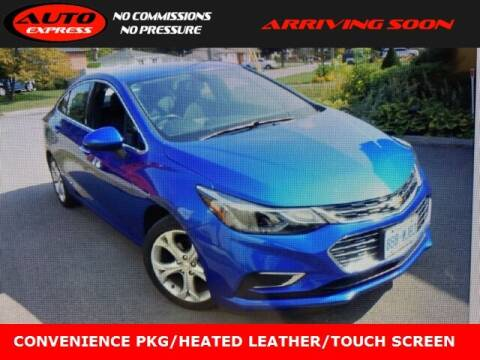 2016 Chevrolet Cruze for sale at Auto Express in Lafayette IN