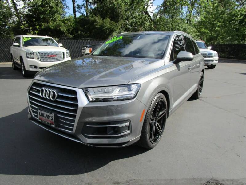 2017 Audi Q7 for sale at LULAY'S CAR CONNECTION in Salem OR