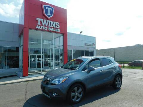 2013 Buick Encore for sale at Twins Auto Sales Inc Redford 1 in Redford MI