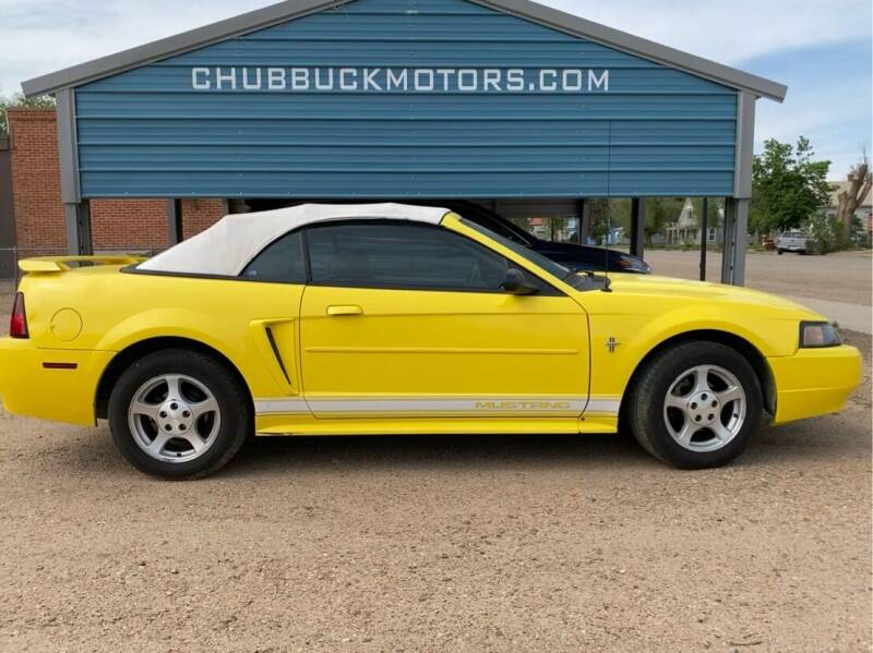 2002 Ford Mustang for sale at Chubbuck Motor Co in Ordway CO