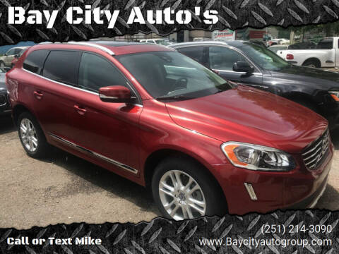2015 Volvo XC60 for sale at Bay City Auto's in Mobile AL