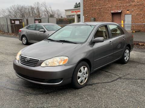 2007 Toyota Corolla for sale at Ludlow Auto Sales in Ludlow MA