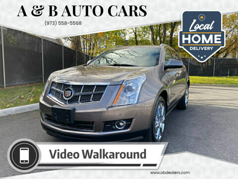 2012 Cadillac SRX for sale at A & B Auto Cars in Newark NJ