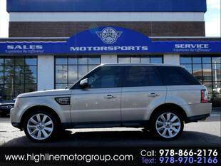 2013 Land Rover Range Rover Sport for sale at Highline Group Motorsports in Lowell MA