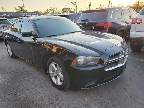 2012 Dodge Charger for sale at America Auto Wholesale Inc in Miami FL