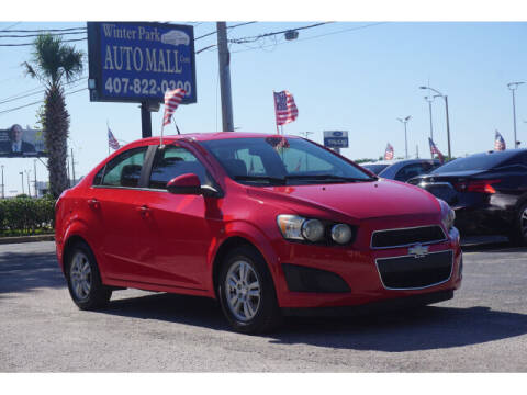 2015 Chevrolet Sonic for sale at Winter Park Auto Mall in Orlando FL