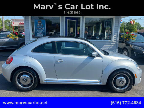 2012 Volkswagen Beetle for sale at Marv`s Car Lot Inc. in Zeeland MI