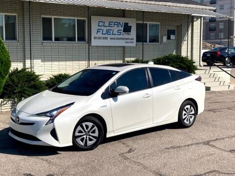 2017 Toyota Prius for sale at Clean Fuels Utah in Orem UT