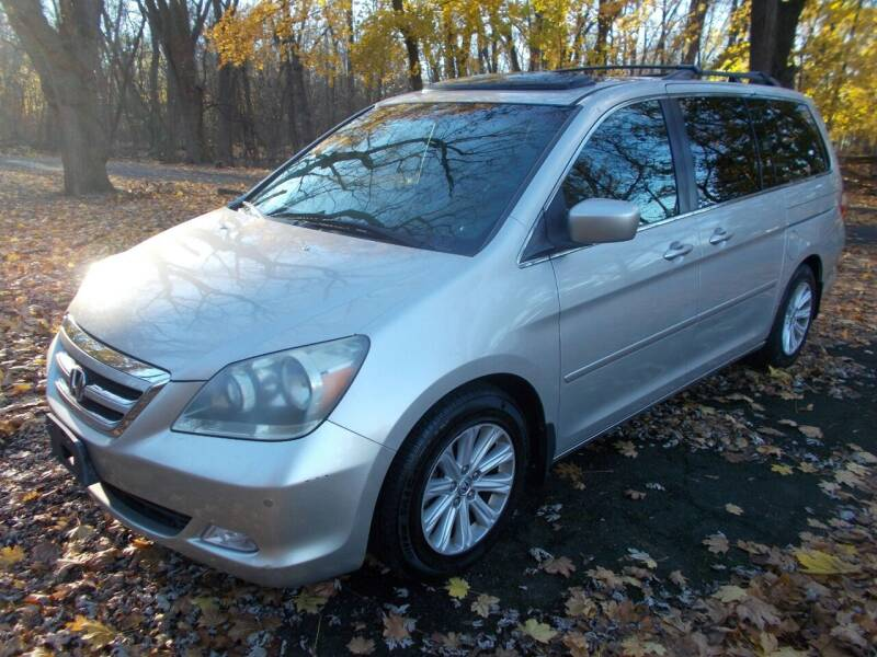 2005 Honda Odyssey for sale at Mercury Auto Sales in Woodland Park NJ