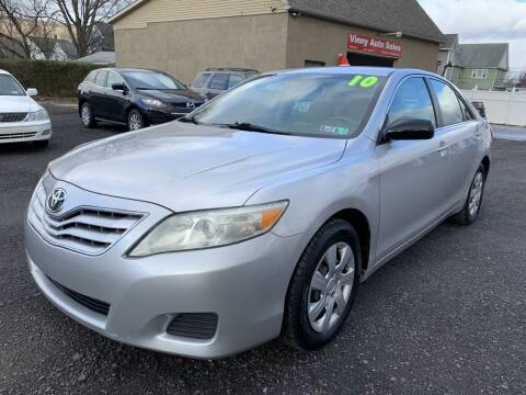 2010 Toyota Camry for sale at VINNY AUTO SALE in Duryea PA