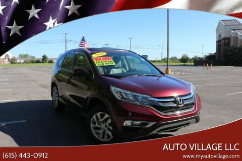 2015 Honda CR-V for sale at AUTO VILLAGE LLC in Lebanon TN