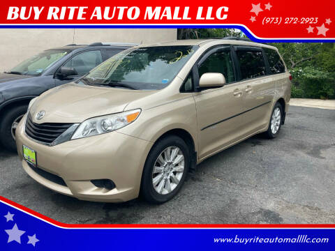 2013 Toyota Sienna for sale at BUY RITE AUTO MALL LLC in Garfield NJ