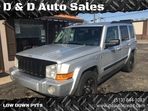 2007 Jeep Commander for sale at D & D Auto Sales in Hamilton OH