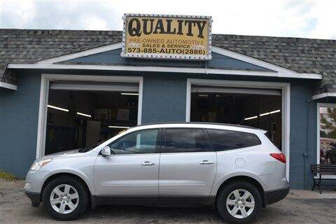 2011 Chevrolet Traverse for sale at Quality Pre-Owned Automotive in Cuba MO