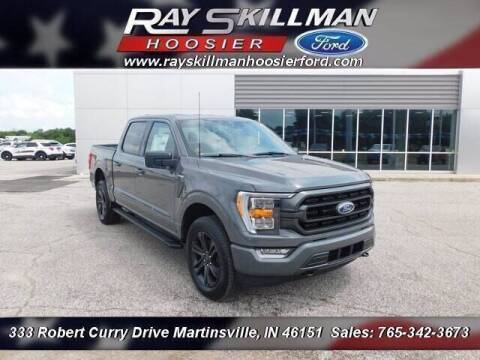 2021 Ford F-150 for sale at Ray Skillman Hoosier Ford in Martinsville IN