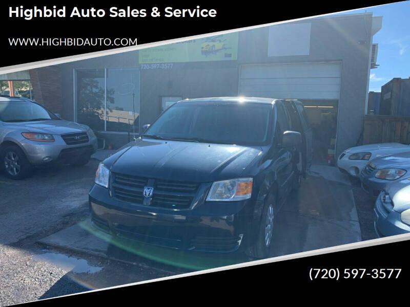 2008 Dodge Grand Caravan for sale at Highbid Auto Sales & Service in Lakewood CO