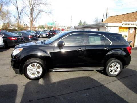 2015 Chevrolet Equinox for sale at American Auto Group Now in Maple Shade NJ