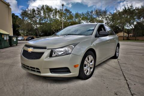 2013 Chevrolet Cruze for sale at Easy Deal Auto Brokers in Hollywood FL