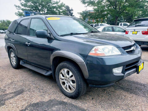 2003 Acura MDX for sale at J & M PRECISION AUTOMOTIVE, INC in Fort Collins CO