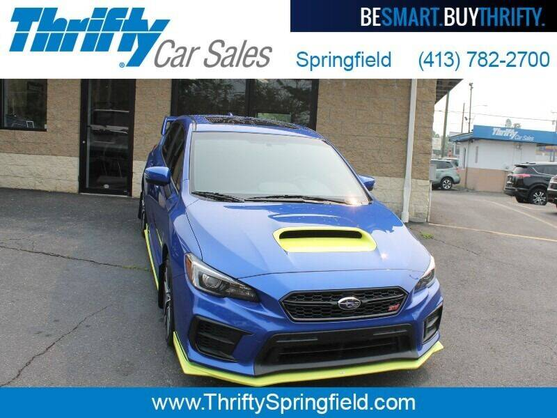 2020 Subaru WRX for sale at Thrifty Car Sales Springfield in Springfield MA
