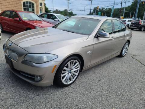 2012 BMW 5 Series for sale at Car and Truck Exchange, Inc. in Rowley MA
