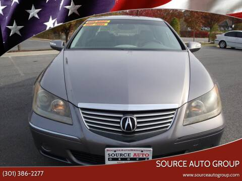 2006 Acura RL for sale at Source Auto Group in Lanham MD