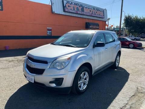 2013 Chevrolet Equinox for sale at City Motors in Hayward CA