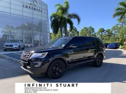2017 Ford Explorer for sale at Infiniti Stuart in Stuart FL